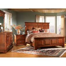 simply solid ike solid wood 6 piece king bedroom collection