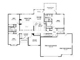 one story home plans house plans bonus room bedroom house plans bonus room ranch house