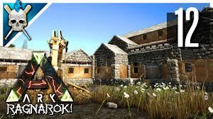 ark house designs ark ragnarok new base build u0026 workshop design ark iron mine