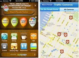 heading to macy s thanksgiving day parade there s an app for that