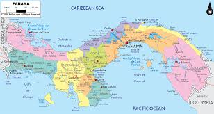 Caribbean Maps by Central America And The Caribbean Political Map 1993 Full Size