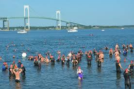 Rhode Island wild swimming images Save the bay swim celebrates 40 years JPG