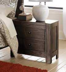 Rustic Pine Nightstand Homelegance Farrin Collection Farrin Traditional Bedroom Set