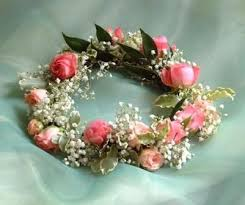 crowning floral spray is a flower crown right for you enchanted brides