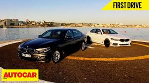 2017 bmw 5 series first drive autocar india youtube