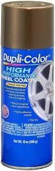 amazon com dupli color hwp105 bronze high performance wheel paint