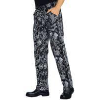 pantalon de cuisine pas cher isacco pantalon cuisinier japonais et noir pas cher achat