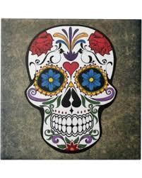 dia de los muertos sugar skulls spectacular deal on dia de los muertos roses sugar skull