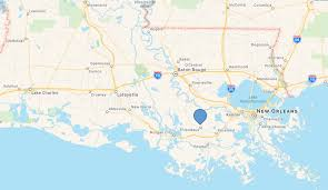 South Louisiana Map by Ehealthcare Solutions
