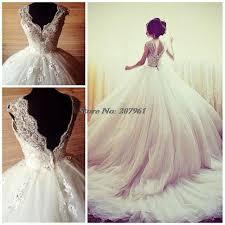 wedding dress with bling vestido de noiva vintage white 2016 luxury gown bling bling