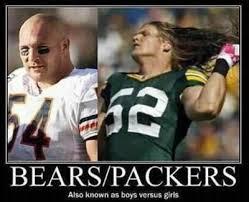 Bears Packers Meme - da bears brian urlacher chicago bears da bears pinterest