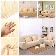 couverture canapé 1 2 3 place housse couverture canapé spandex polyester sofa fauteuil