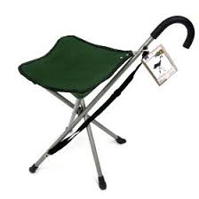 folding cane chair walking stick with tripod stool cane seat