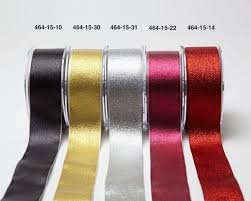 wholesale ribbon 1 5 inch metallic ribbon may arts wholesale ribbon