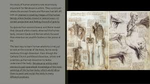 He Made Accurate Drawings Of The Human Anatomy Art 100 Representation Of The Human Form Part 2