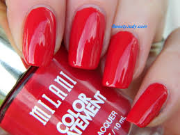 milani color statement nail polish reds oranges beautyjudy