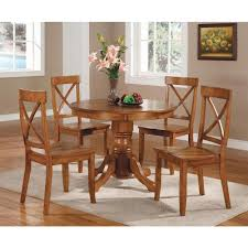 oak dining room set home styles 5 piece oak dining set 5179 318 the home depot