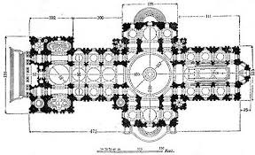 gothic cathedral floor plan texts for craig white s literature courses