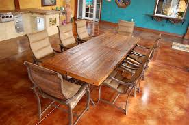 custom made dining room tables custom barnwood dining table custom made reclaimed wood