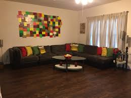 Painting Livingroom Mixed Rasta Livingroom With Diy Mosaic Hand Painting