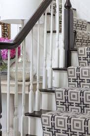 Spindle Staircase Ideas Black And Gray Chain Link Stair Runner Transitional Entrance Foyer