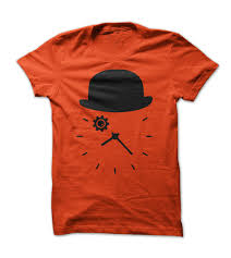 clockwork orange minimal design t shirt