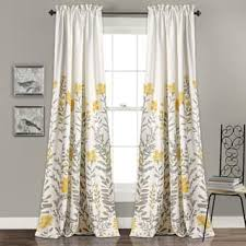 Yellow And Blue Curtains Yellow Curtains Drapes For Less Overstock