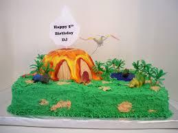 birthday dinosaur volcano cake cakecentral com