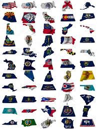 American State Flags State Flags All 50 United States And Some Of The Territory Flags