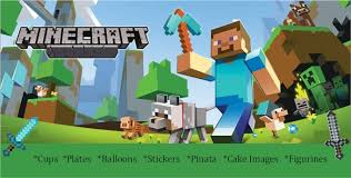 minecraft party decorations kids party supplies online by let s get this party started cars
