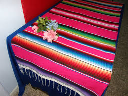 Mexican Table Runner Perfect Mexican Serape Table Runner Aa08 Home Inspiration