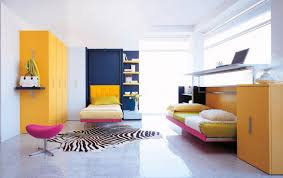 lofted bed area interior design ideas