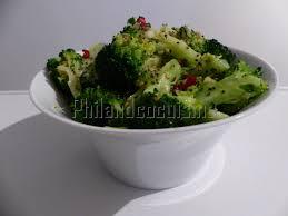cuisiner brocolis a la poele brocoli sauté à l ail et aux graines de sésame et de chia
