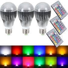 supli led light bulb 10w rgb color changing dimmable led light