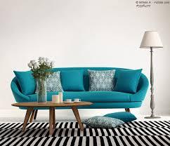 wohnzimmer türkis mittelmeer flair im wohnzimmer mit sofas in türkis und aqua