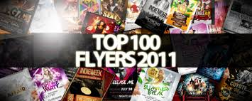 the big list top 100 flyer templates for 2011