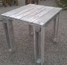 Whitewash Bench Diy Pallet Reclaimed White Washed Tables 99 Pallets
