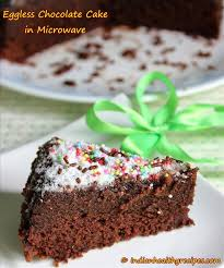 eggless chocolate cake in microwave how to make eggless