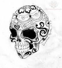 skull design sugar skull images designs