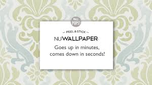 Stick And Peel Wallpaper by Nuwallpaper Peel And Stick Wallpaper Youtube