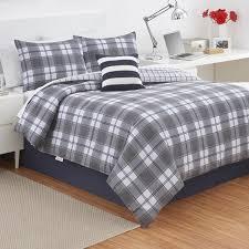 Plaid Bed Set Izod Fairfax Plaid Comforter Set Free Shipping Today Overstock
