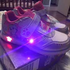 paw patrol light up sneakers find more paw patrol light up shoes 2 sizes available for sale at