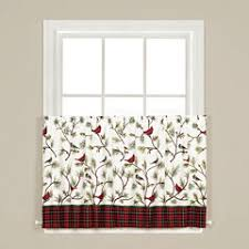 Christmas Kitchen Curtains by Christmas Kitchen Curtains For Window Jcpenney