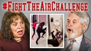 Challenge React Et Télécharger Elders React To Fight The Air Challenge Compilation