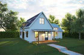 passive design inhabitat green design innovation new net zero solar farmhouse from deltec generates all its own energy