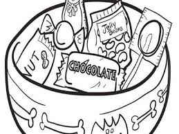 chocolate candy coloring pages printable coloring pages for all
