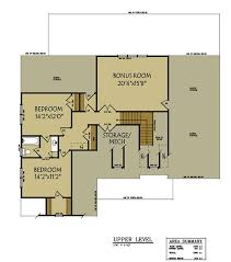 2 Story House Plans With Master On Main Floor 3 Bedroom Floor Plan With 2 Car Garage Max Fulbright Designs