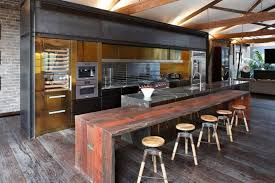 Industrial Kitchen Islands Industrial Kitchen Island With Seating Derektime Design Design