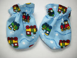 choo choo train boy scratch mitten lollipops baby shower diaper