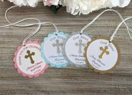 christening party favors baptism favor tags baptism party favor tags communion